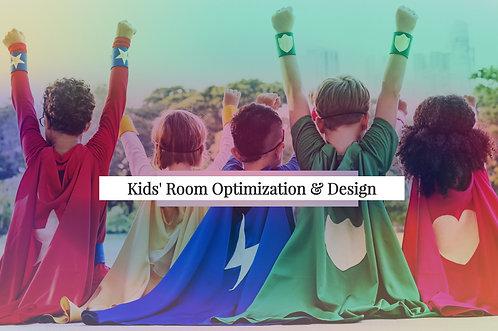 Kids' Room Optimization & Design