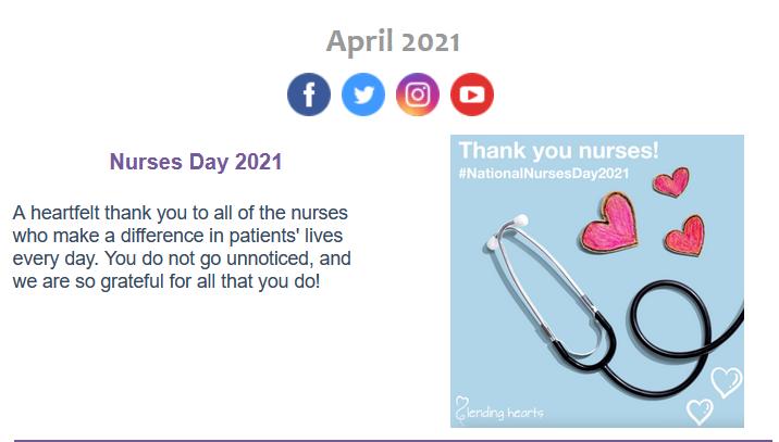 May 2021 eNewsletter