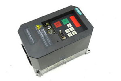 SIEMENS MICROMASTER 550W 230V 3F 4.2A - 6SE3112-8CA40