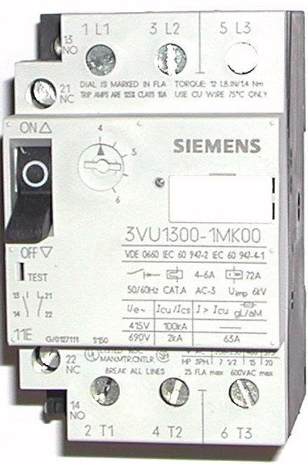 SIEMENS Guarda Motor (Motor Protector) - 3VU13001MK00