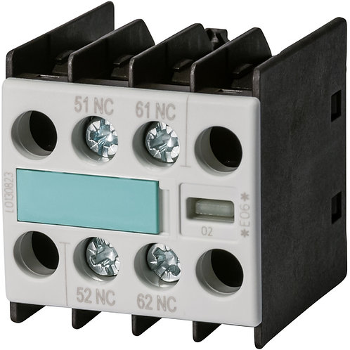 SIEMENS Contacto Auxiliar (Auxiliary Contact Block) - 3RH1911-1FA02