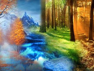 Güneş ve Ay, Yaz ve Kış