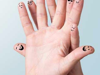 Bir elin parmakları