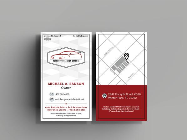 Auto Shop Business Cards