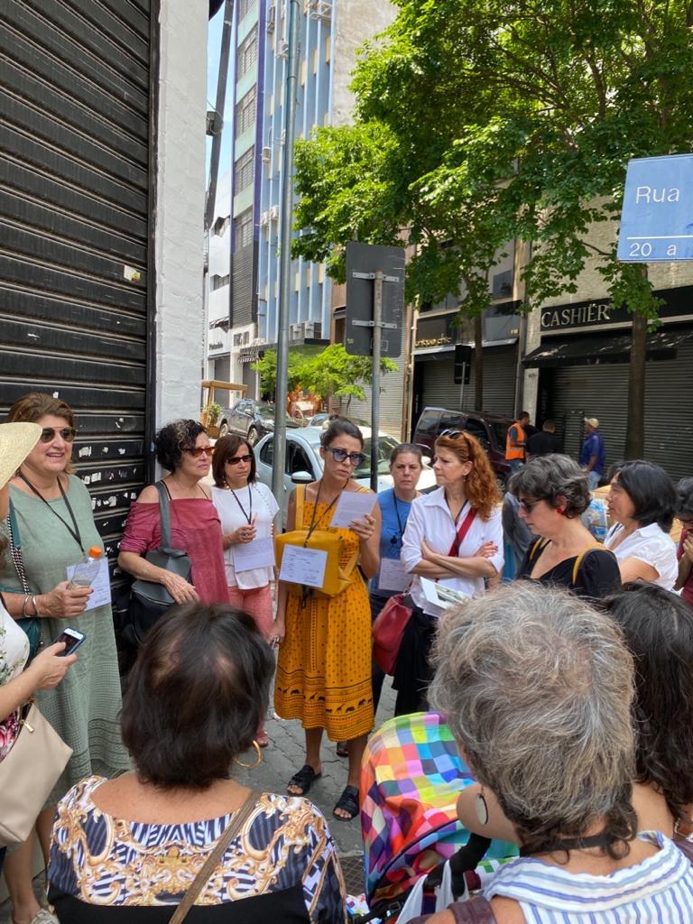 Visita guiada aos lugares de memória das Polacas Bom Retiro, São Paulo/SP