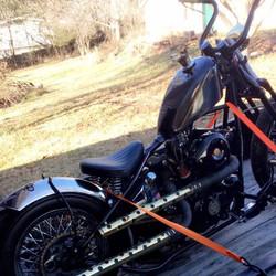 Motorcycle Hauling