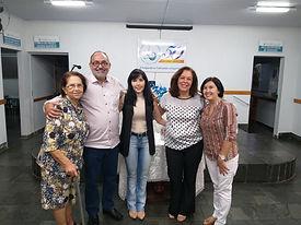 Maria Teodoro, Aston, Silvana, Mirtes e Edimeire