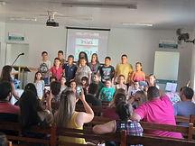 Evangelização Infantil Centro Espírita Eurípedes Barsanulfo Hidrolândia Goiás