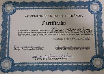 Semana Espírita de Hidrolândia Goiás CEEB