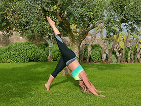 pilates in Sicily with Candice