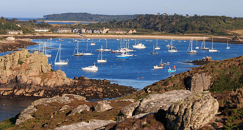 Scilly Isles cove