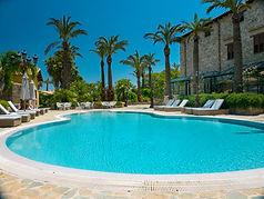 Villa pool in Sicily