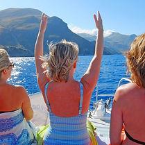 boat trip in Italy