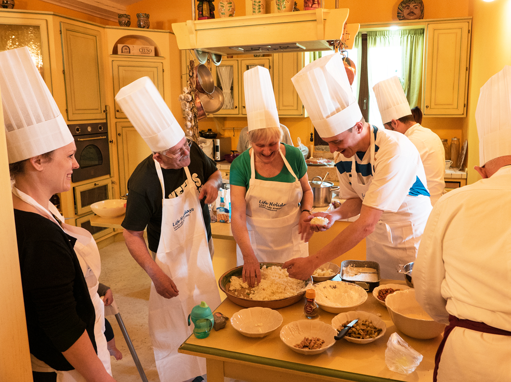 Cooking holidays in Sicily