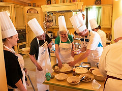 Cooking holiday in Italy