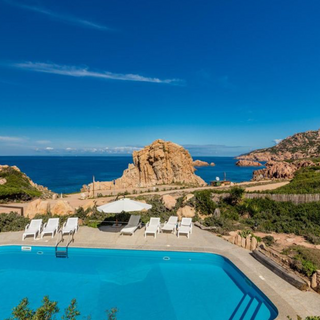 Sardinian villa pool
