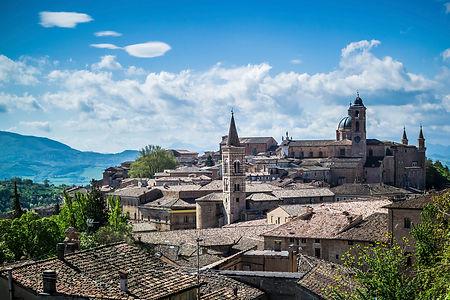 Le Marche cityscape Italy