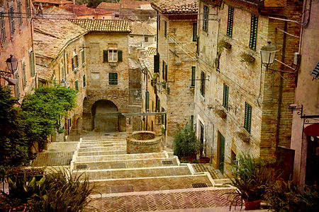 le marche town Italy