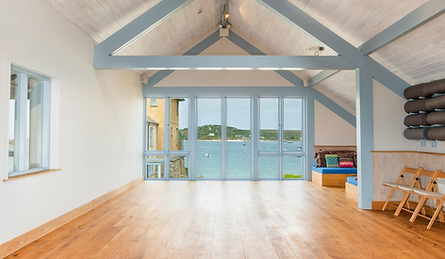 Pilates room Scilly Isles