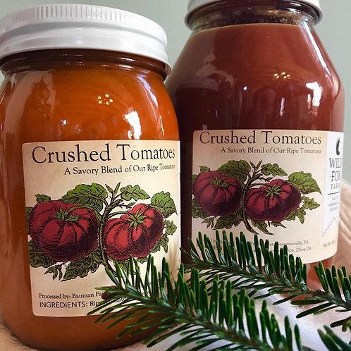 Wild Fox Farm crushed tomatoes