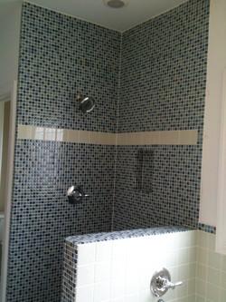 Mosaic bathroom remodeler