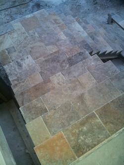 Betts Designs stone installation