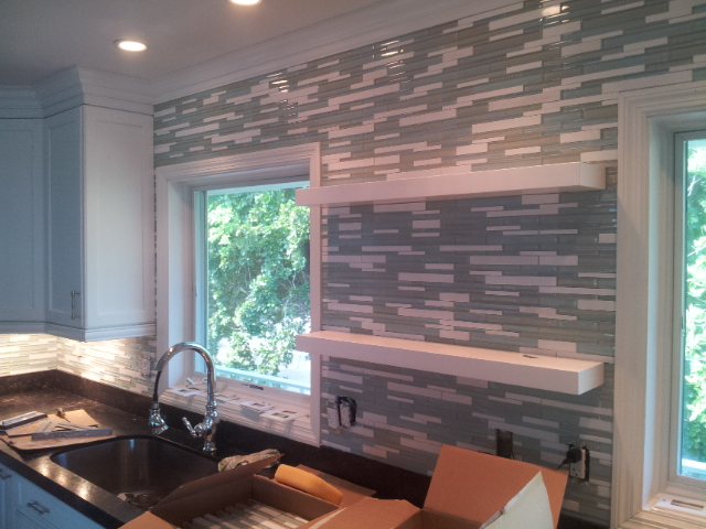 Raleigh Backsplash Installation
