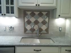 Mosaics tile backsplash Installation