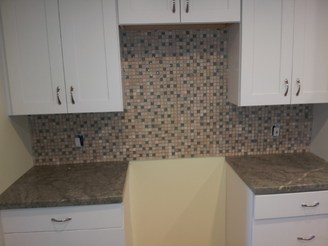 Betts Designs mosaic tile install
