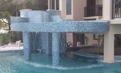 Waterfall pool Betts Designs
