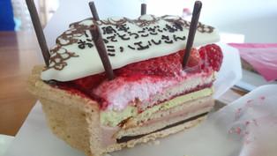 祝15周年ケーキ!