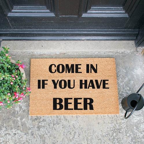 Deurmat - Have a beer