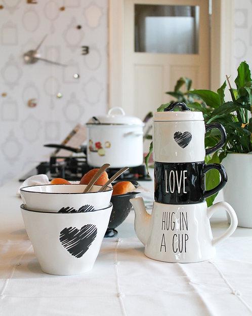 Kommen en theepot - Hug in a Mug