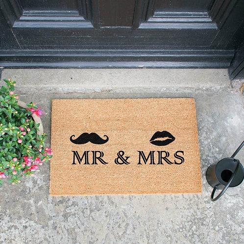 Deurmat - Mr. & Mrs.