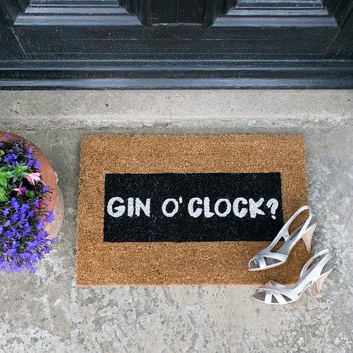 Deurmat - Gin O'clock Sparkle