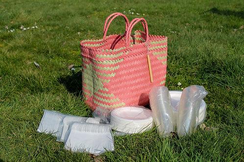 Picknick Set - Eco Friendly - 300 stuks