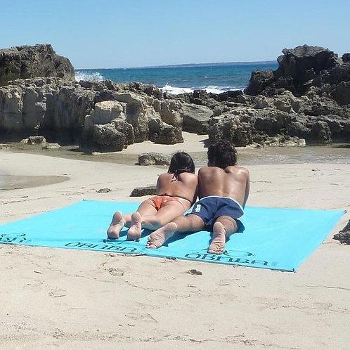 Picknickdeken - strandlaken XL - Obaba - Aqua
