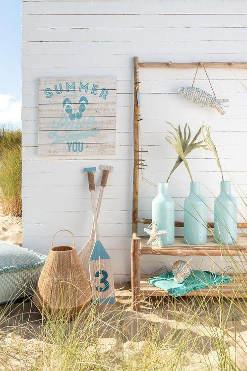Houten Borden  Beach/Summer 2 stuks/J-Line