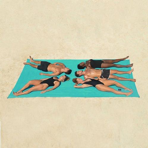 Picknickdeken - strandlaken XXL Obaba - zwart