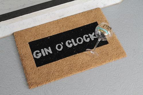 Set Gin o'clock  - Glitterdeurmat - Gin Glas - MeTime