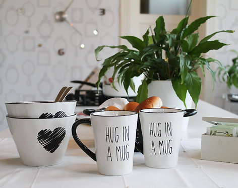 Teatime  - 2 kommen en 2 tassen - Hug in a Mug