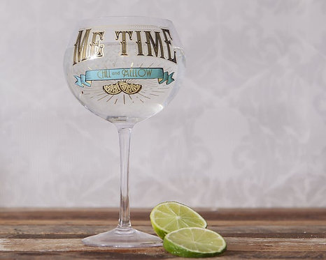 Gin Glas - Me Time - Chill and Mellow