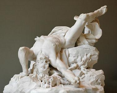 François Dumont, Titan foudroyé (1712), Musée du Louvre