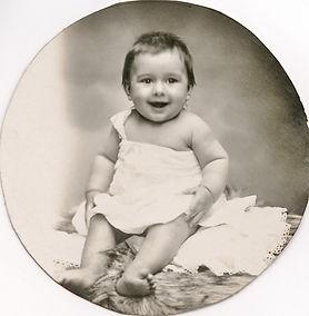 André Devaux bébé, source archives familiales