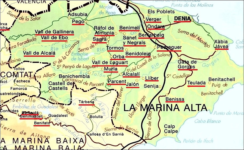 Marina Alta, source X Gille