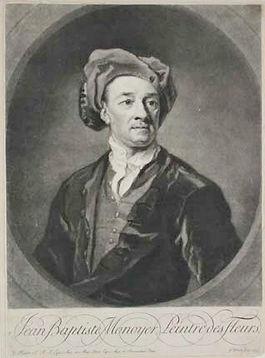 Portrait de Jean Baptiste Monnoyer