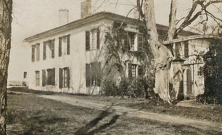 Propriété de Bessan en 1917, source archives familiales
