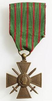 Croix de Guerre 1914-18
