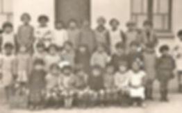 Koléa classe de Josiane Vidal (1928), source archives familiales