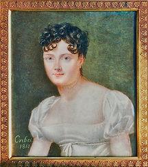 Portrait d'Amélie de Chapeaurouge (1810), source familiale